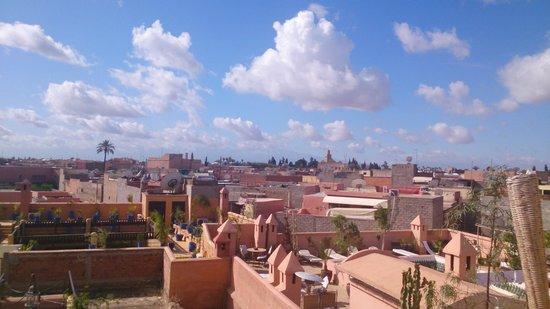 Riad Dar El Aila: rooftop
