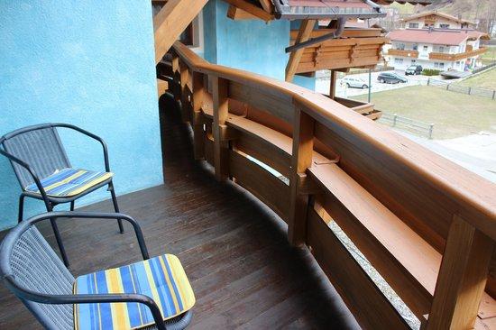 Grauer Baer Hotel: Balcony