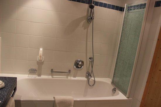 Grauer Baer Hotel: In bath showering