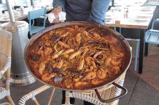 Hesperia Sant Joan: Nasi khas Negeri Spanyol