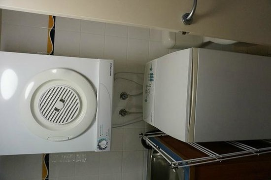 Mantra Hervey Bay: Waschmaschine und Trockner
