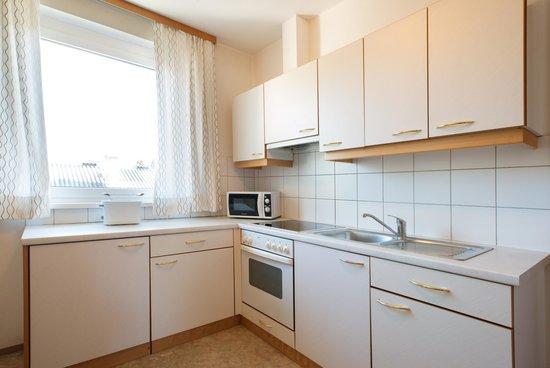 Kanauf Appartements: Küche
