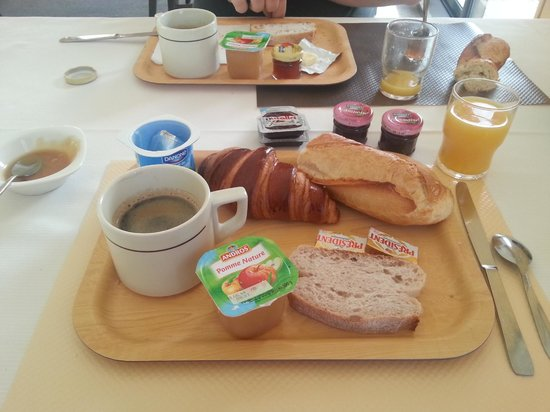 Logis Luccotel : Petit déjeuner en buffet