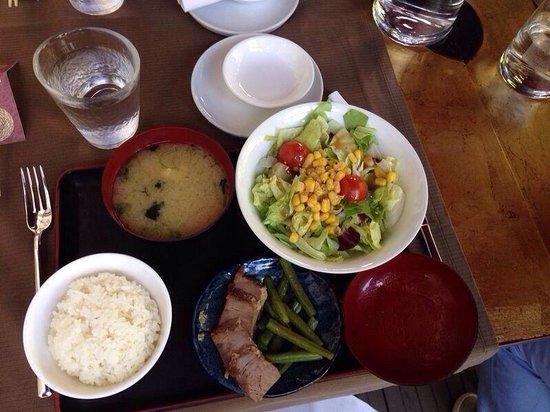 Kandoo: Riso, zuppa, tonno e fagiolini e insalata