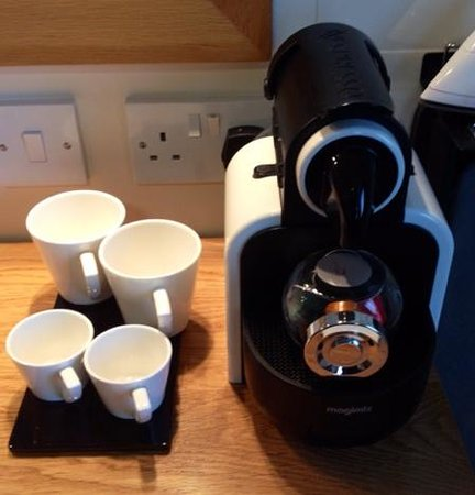 Tara Lodge: In Room Coffee / Nespresso Facilities