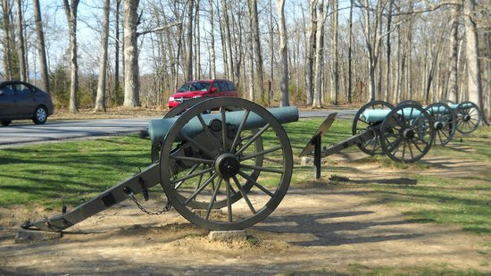 Gettysburg National Military Park: Canon