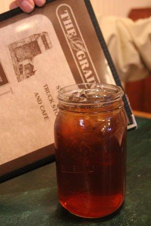 The Grainery: Quart jar iced tea