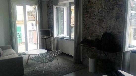 Hotel Marina Piccola : Living area.