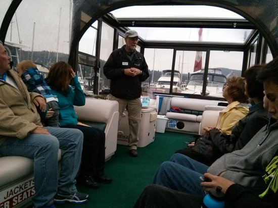 EcoCruising : Cruise under glass... Who cares that it was raining.