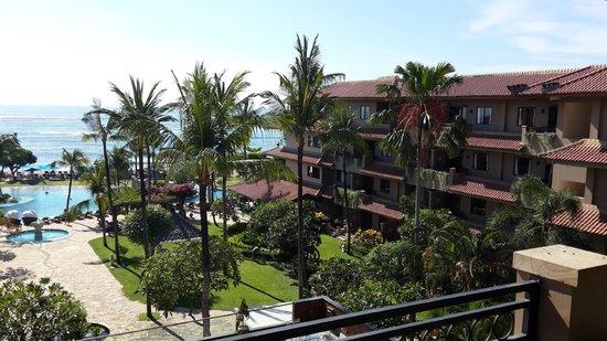 Grand Aston Bali Beach Resort : veduta dalla terrazza della camera