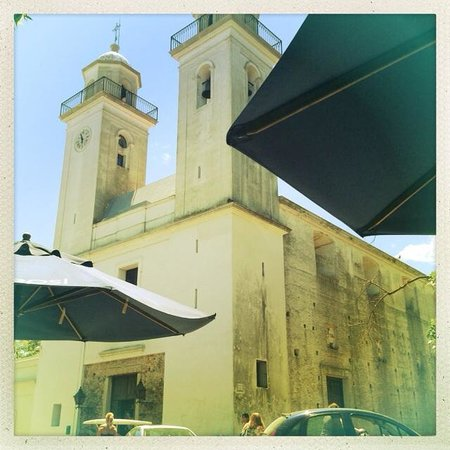 Viejo Barrio Restaurant and Bar: Our view from the restaurant!