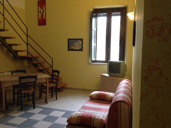 La Fortezza Hotel Residence: soggiorno