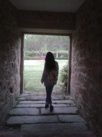 Quinta Do Casal Do Condado: Arco de entrada a jardines