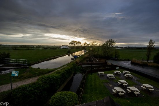 The Mill at Conder Green: Early evening view, room 17