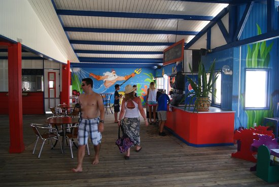 De Palm Island: comida y bebida