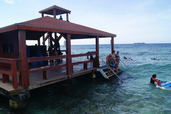 De Palm Island: embarcadero del snorkel