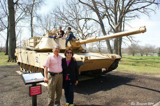 First Division Museum at Cantigny : Desert Storm Tank