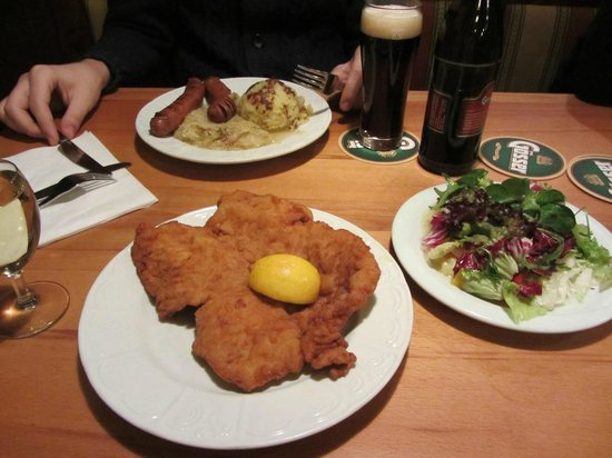 Reinthaler's Beisl : Shnitzel