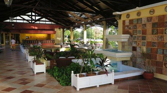 Sol Cayo Santa Maria : Entrée du lobby