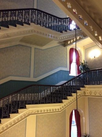 The Palace Hotel: the staires