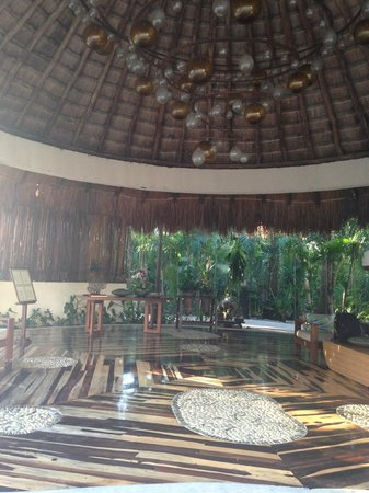 Viceroy Riviera Maya: The Lobby of the hotel