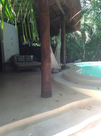 Viceroy Riviera Maya: Outside our royal villa