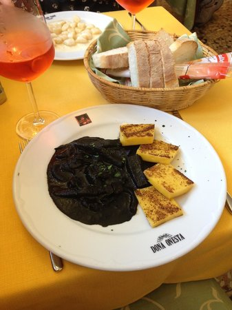 Dona Onesta: Our lunch with spritz