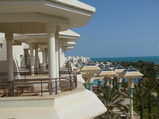 Hasdrubal Prestige Thalassa & Spa : Vue de terrasse de chambre