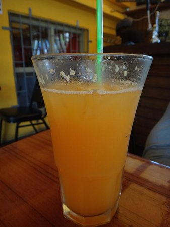 The Good Life: Mixed Juice (all fresh-hand-pressed right before you drink it!)