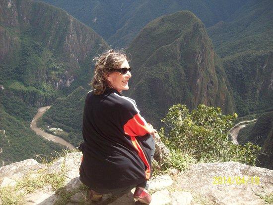 Che Lagarto Hostel Cusco: em machu picchu