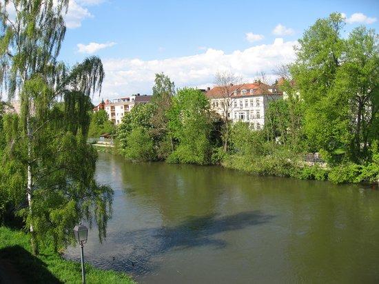 Tandem Hotel: Aussicht auf die Regnitz