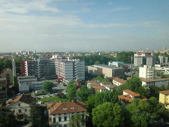 NH Padova: View from the room on the 11th floor