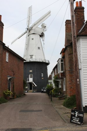Union Mill: The entrance to the Windmill
