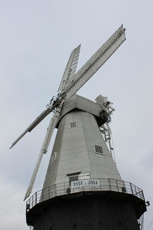 Union Mill: A closer view of the mill