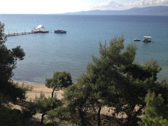 Club Med Gregolimano: Vue 2 chambre Acropole