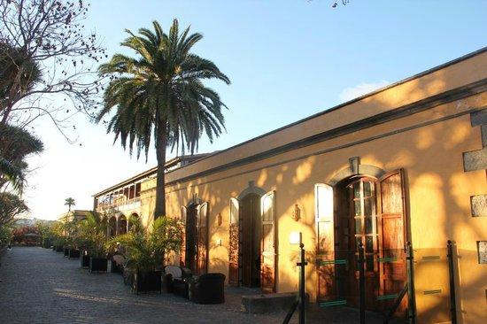 Hacienda del Buen Suceso: Zugang