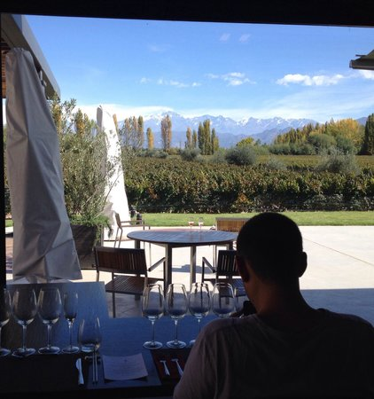Casarena Restaurante : Awesome view from our table