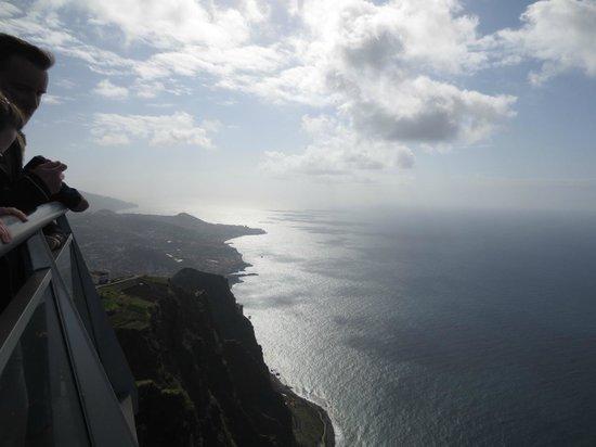 Cabo Girao : Vista espetacular da ilha