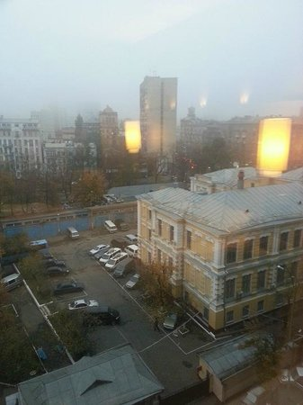 Holiday Inn Kiev: View from the executive room