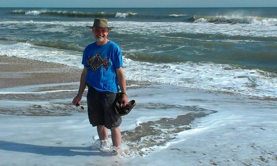 Marine Villas: Great beach!