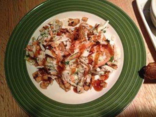 Applebee's: grilled chicken wonton tacos