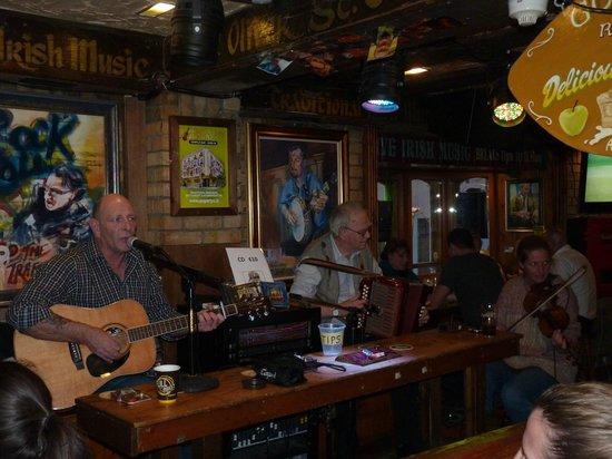 Oliver St. John Gogarty's Pub: nice live music