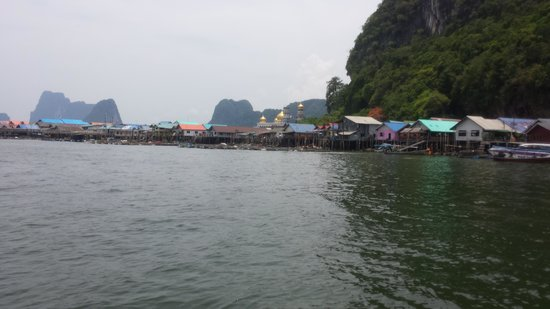 Koh Panyi (Floating Muslim Village): pretty from afar