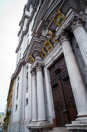 Stift Haug: a Baroque church