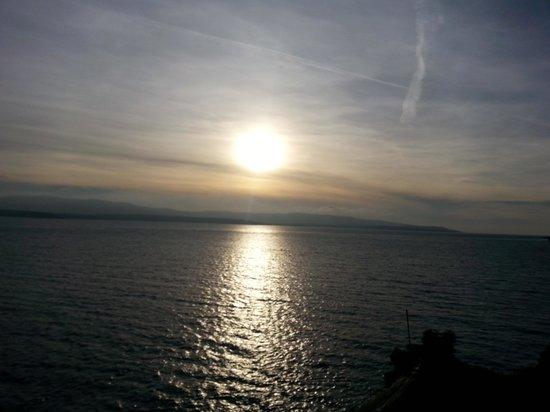 Hotel Sveti Kriz: sunset