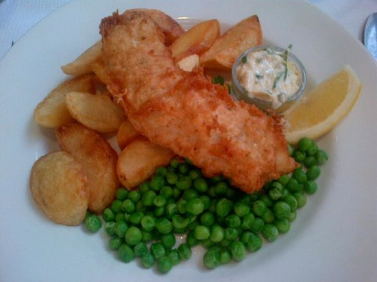 The Lighthouse : Fish and Chips a la Lighthouse