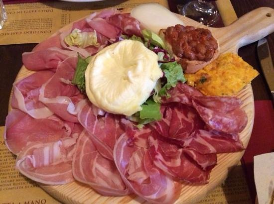 Osteria Castellabate di Romagna : Antipasta!