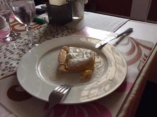 La Terrasse Cuisine Française : la merveilleuse tarte au citron