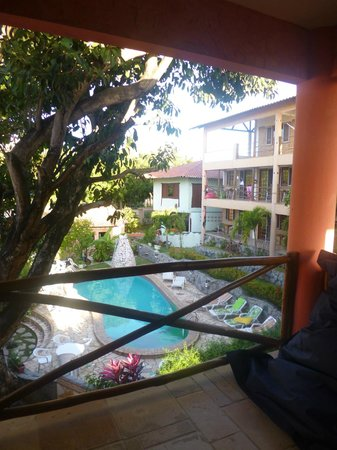 Pousada TropicalWind Cumbuco: Vista da varanda