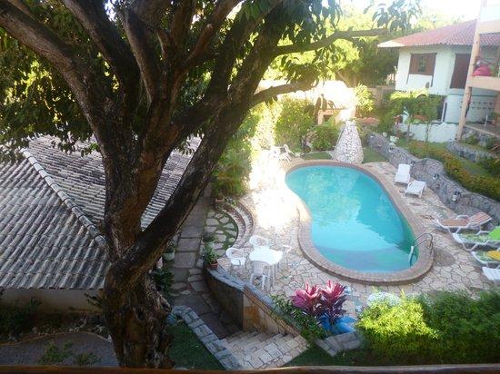 Pousada TropicalWind Cumbuco: Área da piscina